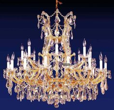 Maria theresa crystal chandelier grande 84 light chrome maria popular unique chandeliers buy cheap unique chandeliers lots from aloadofball Images