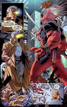 Deadpool | Ten Days of Cable & Deadpool: #1 – Blow my mind