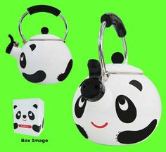 Panda tea pot... XD