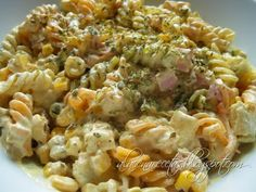 Good Food, Yummy Food, Delicious Recipes, Pasta Salad, Italian Recipes, Potato Salad, Macaroni And Cheese, Cooking Recipes, Lunch