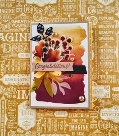 Stampin' Up! 2019 August paper pumpkin kit alternative, gift of fall add on Stampin 'Up! Penny Black, Magenta, Stampin Up Paper Pumpkin, Pumpkin Cards, Making Greeting Cards, Fall Cards, Christmas Paper, Fall Pumpkins, Stampin Up Cards