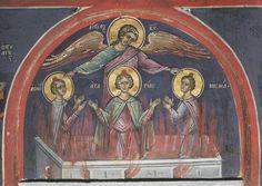 Religious Icons, Orthodox Icons, Fresco, Painting, Motivational, Saints, Fresh, Painting Art, Paintings