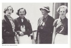 Unity, Decca, Lady Redesdale & Debo From Culture in a Cold Climate: May 2012 Diana Mitford, Mitford Sisters, The Duchess Of Devonshire, Evelyn Waugh, English Novels, Six Sisters, Stella Tennant, German Women, Family Album