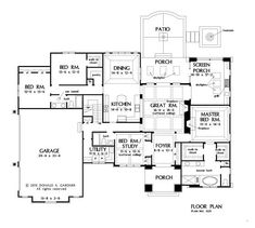 Check out this new European design in progress #1325. A large utility room and pantry are just a couple of the special features in this floor plan. http://houseplansblog.dongardner.com/home-plan-1325-now-in-progress/. #European #OneStory #HousePlansBlog