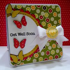Get Well Soon - Scrapbook.com by Lisa Young