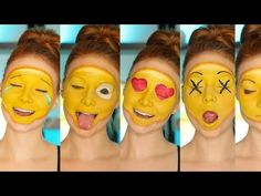 7 Easy Funny Halloween Makeup Ideas That Will Have Your Friends LOL'ing — VIDEOS   Bustle
