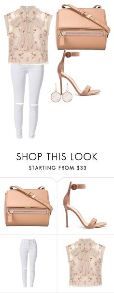 """Untitled #693"" by samson-90 on Polyvore featuring Givenchy, Gianvito Rossi, Needle & Thread and Dsquared2"