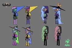 """Concept art for a 2D animation project called """"Captain Constantino"""" :3 lekomi"""
