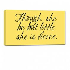 yellow pottery barn wall sign for girls room