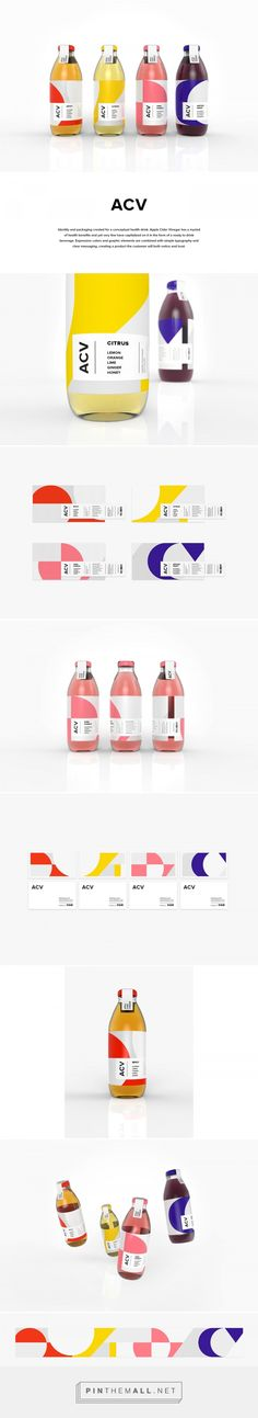 ACV Beverage Packaging by Amanda Mohlin Stuart | Fivestar Branding Agency – Design and Branding Agency & Curated Inspiration Gallery