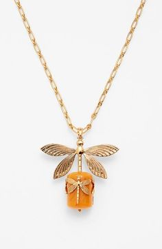 """Dragonfly Pendant Necklace...nice 30"""" length."""