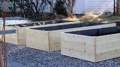 STILkvisten: Bygga egna odlingslådor