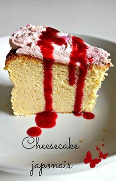 Le cheesecake japonais, un dessert fondant comme un nuage et délicieux :)