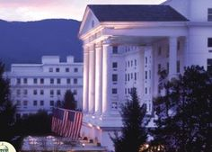 The Greenbriar Resort, WV. was built in 1853.  The Greenbrieris aForbesfour-star andAAAFive Diamond Awardwinningluxury resortlocated just outside the town ofWhite Sulphur SpringsinGreenbrier County, West Virginia, United States.
