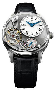 Maurice Lacroix Gravity – Baselworld 2014 Monochrome Watches 1c690826ec