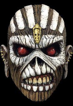 Iron Maiden Eddie The Book Of Souls Halloween Mask