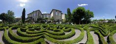 La Terrasse de Lautrec - Chambres d'hôtes de charme et gîte de caractère dans le Tarn. Le jardin à la française. www.laterrassedelautrec.com