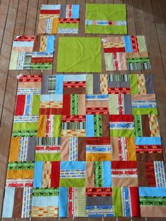 """How to make a """"Quillow"""" - half quilt, half pillow (i.e. cushion). This design is nice for boys too..."""