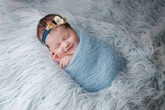 Gorgeous sweet smile of a newborn baby girl from Gabriela Insuratelu, newborn artist from Iasi, Romania.