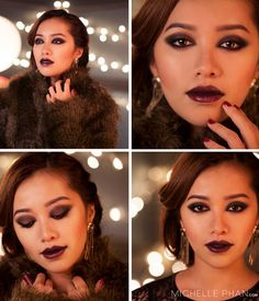 Sévérine from SKYFALL by Michelle Phan - a perfect look to recreate for the holiday party season! #beauty #style
