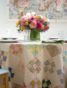 Throughout history, people have enjoyed quilts for many different reasons. Quilts can provide clues to the past andprovide heritage.Quilt...