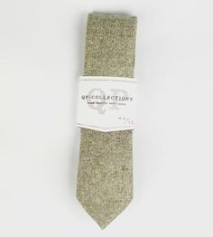 Wool Tweed Necktie, Balmoral by QP Collections on Scoutmob Shoppe