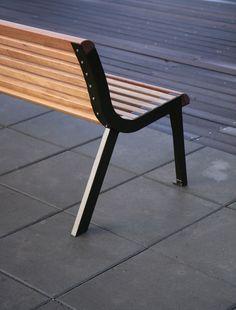 mmcité - products - park benches - diva