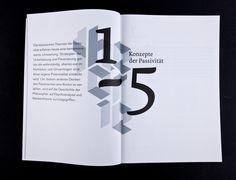 Theorien der Passivität – potentia passiva by Fabian Harm, via Behance