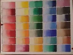 Watercolor 411: Get To Know Your Colors