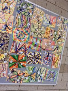 We have created Op Art value drawings in 8th grade art for a number of years now but this quarter, we included an additional twist- a printe...