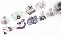Washi Tape cámaras de fotos