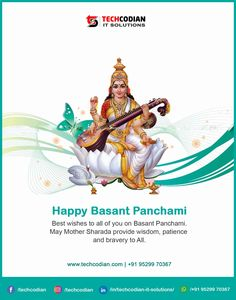 Best wishes to all of you on Basant Panchami Wish, Happy, Movie Posters, Movies, Art, Craft Art, Films, Film, Kunst