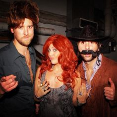 Pin for Later: The All-Time Best Celebrities in Pop Culture Costumes Brooks & Dunn and Reba McEntire Lady Antebellum channeled other country acts: Brooks & Dunn and Reba McEntire in 2012.  Source: Instagram user lady_antebellum