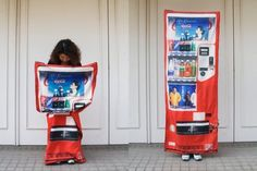 This anti-rape vending machine dress. | 11 Absurd Products Women Have Been Told To Buy So Men Don't Rape Them - All of these make me nauseated.... Rape Culture at it's finest UGH!
