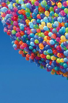 Colorful ballons - Movie UP