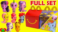 COMPLETE SET OF 8 BUILD A BEAR WORKSHOP FREE SHIPPING McDonalds 2015