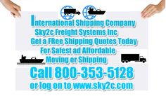 If you are looking for shipping air freight rates then you must contact to sky2c Freight Systems Inc, Since we provide very affordable and cheapest shipping services throughout the world.