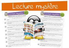 travailler les inférences, l'implicite sous forme de petits textes CM Cycle 3, French Kids, Core French, Reading Games, Hidden Pictures, Comprehension, Kids Learning, Classroom, Teacher