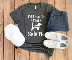 Dogs Are My Kinda Thing Unisex T-ShirtDog Mum Love Dogs Paw Print Pug Beagle
