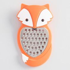One of my favorite discoveries at WorldMarket.com: Fox Silicone Cheese Grater