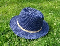 pdf download crochet hat pattern, straw panama hat pattern,hat for man,straw sun hat,unisex hat on Etsy, $6.32 AUD