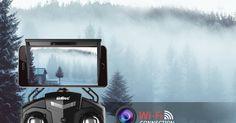 LA TECNOLOGIA VISTA DALL'ALTO     Potensic Drone  con Telecamera, U42W Aggiornato WiFi FPV 2.4Ghz Hover Droni Quadricottero Videocamera Cam...