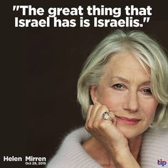 Praise G-D for HIS People ISRAEL | Shame on you Helen. You just lost my support ... kd
