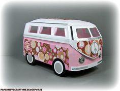 PAPER N SVG CRAFTY ME: MY 3D VW SAMBA BUS