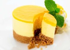 Mango Cheese (Mango Chease) Cake Recipe ~ Easy Recipes
