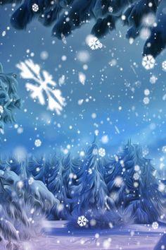 "Photo from album ""Мои работы"" on Yandex. Winter Szenen, Winter Fairy, Hello Winter, I Love Winter, Winter Wonder, Winter Theme, Merry Christmas Gif, Christmas Frames, Christmas Scenes"