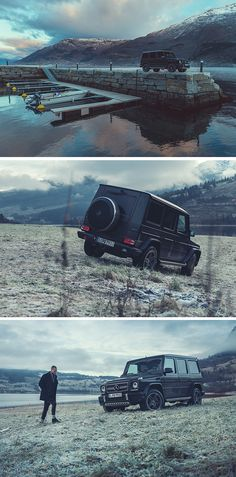 Sometimes all you need is a getaway. Gijs Spierings (www.gijsspierings.com) for #MBsocialcar [Mercedes-AMG G 63 | Fuel consumption combined: 13.8 l/100km | combined CO₂ emissions: 322 g/km | http://mb4.me/efficiency_statement]