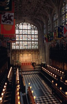 Henry VIII is buried in St. George's Chapel at Windosr Castle, not in Westminster Abbey (where one might expect). Jane Seymour is buried with him.