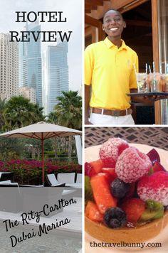 Reviewed - The Ritz-Carlton, Dubai Marina. 5 star hotel on the beach in Dubai
