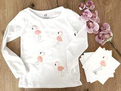 Einfache DIY - Flamingo Bügelbilder ganz leicht selbst gemacht
